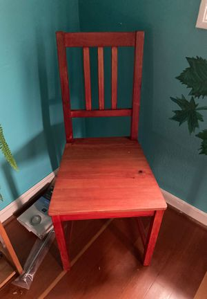 Red Chair for Sale in Portland, OR