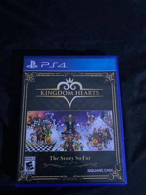 Kingdom hearts the story so far for Sale in Lauderhill, FL