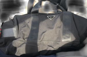 Prada travel bag with authentic cover for Sale in North Miami Beach, FL