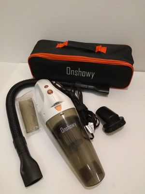 Onshowy Car Vacuum Cleaner 12V Stainless Steel Filter Wet&Dry 14.76 ft Power Cord for Sale in Arlington, VA