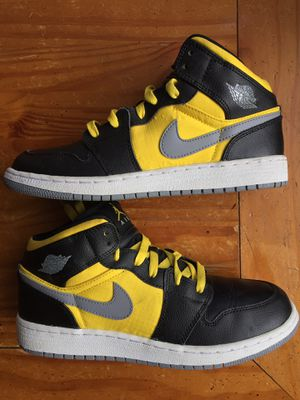 Nike Air Jordan 1 Retro Phat GS 'Stealth' Big Kids Size 7 Youth Black/Stealth/ for Sale in Hoffman Estates, IL