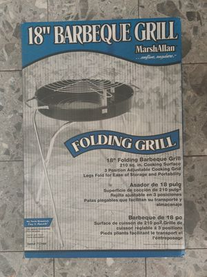 "18"" Folding BBQ Grill for Sale in Fort Washington, PA"