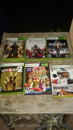 6 games for $30 for Sale in Merced, CA