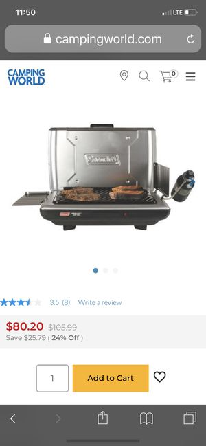 Coleman outdoor grill for Sale in Franklin, TN