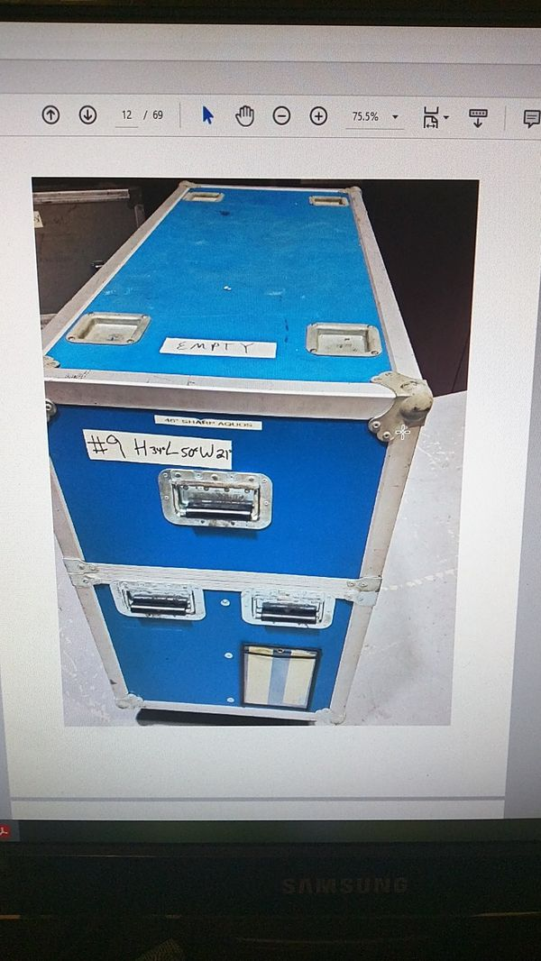Road Cases for Monitors and AV Equipment Clearance Sale