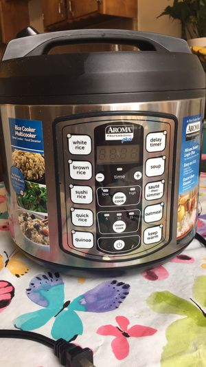Aroma Professional Plus Steamer Rice Slow Cooker 20 Cup- Make Offer for Sale in Downey, CA