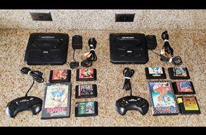 Original Sega Genesis Console SETS for Sale for Sale in Riverside, CA