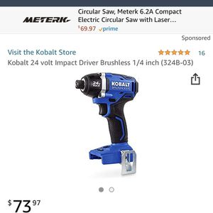 Kobalt 2 Tool Set With 4Ah Battery and Charger for Sale in Marlborough, MA