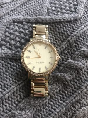Kate Spade Gold Watch w/ crystals for Sale in Brookline, MA