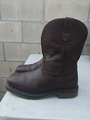 Ariat steel toe work boots size 9.5 EE for Sale in Riverside, CA