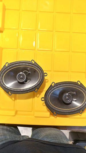 Kicker ds68 6x8 speakers for Sale in Hastings, NE