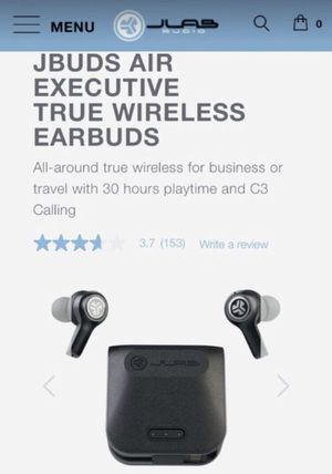 NEW - JBUDS AIR EXECUTIVE TRUE WIRELESS EARBUDS for Sale in Katy, TX