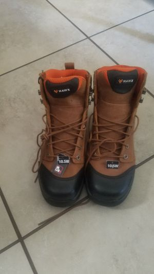 Work boots size 10 1/2 for Sale in Fresno, CA