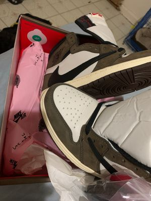 Travis Scott Air Jordan 1 Size 11 100% Authenticity for Sale in New York, NY