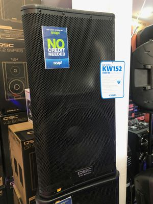 QSC kw152 speaker on sale today guaranteed lowest prices in LA for Sale in Carson, CA