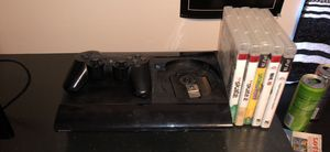 ps3 with games and controller for Sale in Murfreesboro, TN