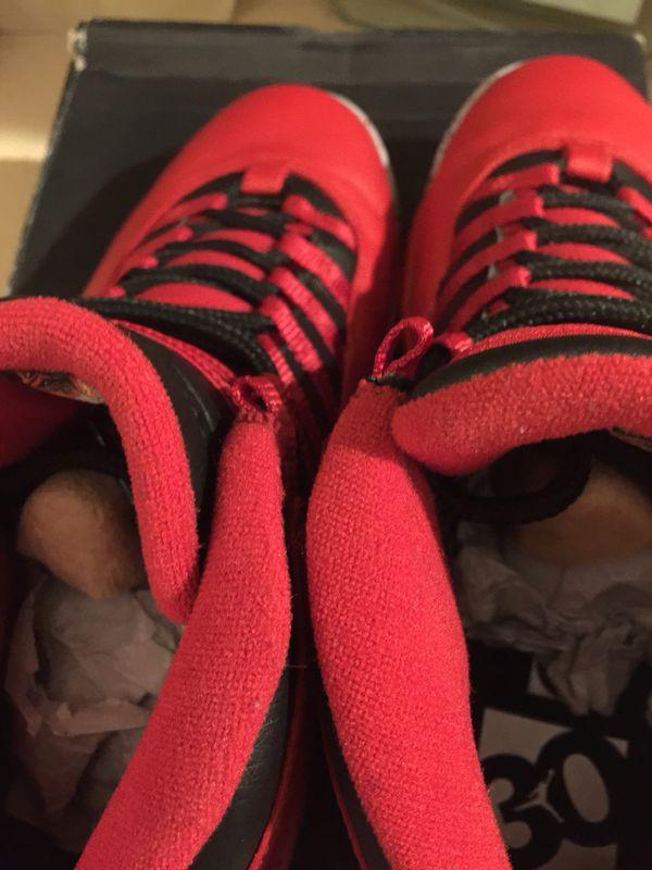 VNDS Nike Jordan 10 Bulls Over Broadway Size 9