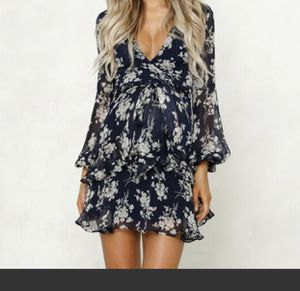 Brand new maternity ruffled dress for Sale in Fort Lauderdale, FL