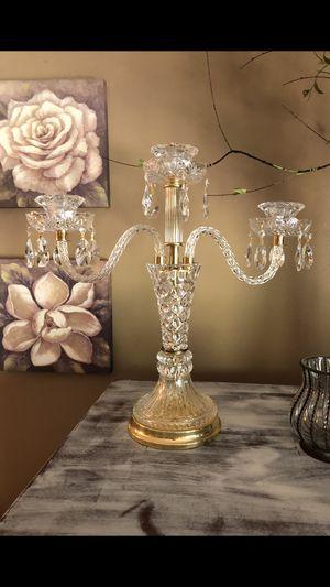 Antique crystal candelabra for Sale in Portland, OR