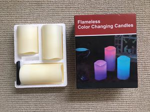 Flameless Color Changing Candles for Sale in Seattle, WA