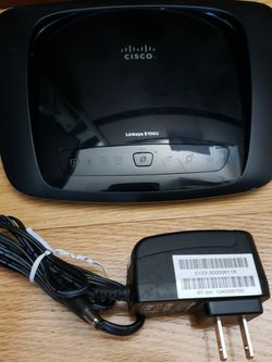 Cisco Linksys E1000 Wireless Dual Band Router for Sale in Colma,  CA