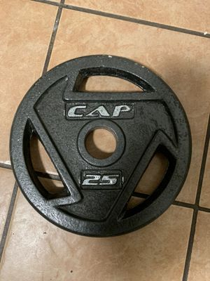 Cap weight plate for Sale in Austin, TX
