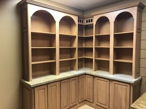 Showroom Display All wood Storage with shelves counter unit for Sale in San Ramon, CA