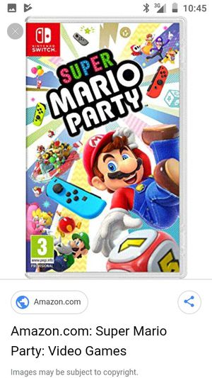 Nintendo switch games super Mario party for Sale in Upland, CA