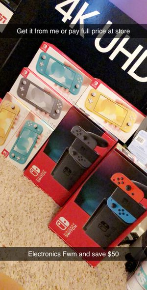 Nintendo Switch Lite & Nintendo Switch Console for Sale in Sauget, IL
