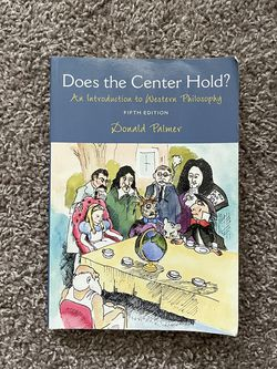 Does The Center Hold? Book for Sale in Fort Lauderdale,  FL