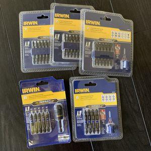 Irwin Impact Drill Bit Bundle for Sale in Fort Wayne, IN