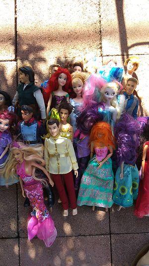 Disney Barbie Doll Lot for Sale in Costa Mesa, CA