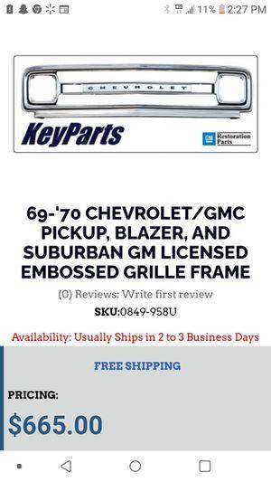 Original. Chevy. Grill. for Sale in Sunnyside, WA
