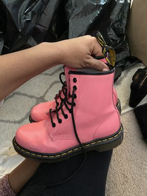 Hot pink doc martens for Sale in Fairfax, VA