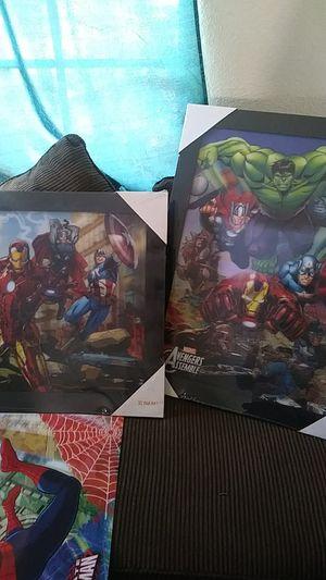 Marvel hologram frames 20$ for Sale in Baldwin Park, CA