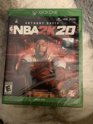 NBA2K20 for XBOX ONE for Sale in Manvel, TX