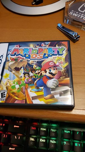 Mario party DS !!CASE AND MANUAL ONLY!! for Sale in West Boylston, MA