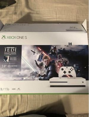 xbox one s 1 tb Star Wars Jedi: Fallen Order Bundle for Sale in Washington, DC