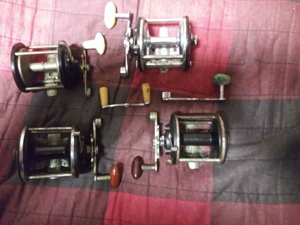 4 Antique Penn Reels all winds and drag work