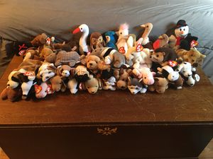 40 Ty Beanie Babies—All with Tags—See all pics for Sale in Joliet, IL