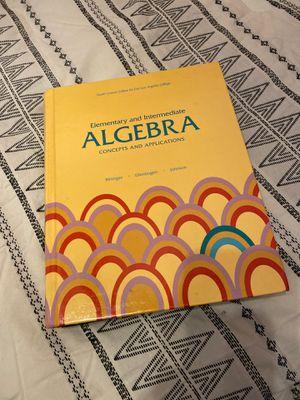 Algebra textbook for Sale in Monterey Park, CA