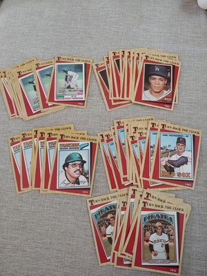1987 Turn back the clock baseball cards for Sale in Pompano Beach, FL