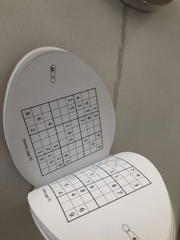 New Pencil puzzles, Sudoku & Game Card