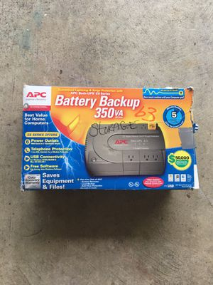 Power out let, battery backup. 80.00 new for Sale in Apex, NC