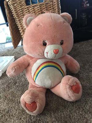 Large care bear plush for Sale in Fresno, CA