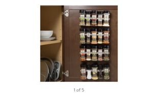 Spice Rack Organizer- Cabinet Gripper Clip Strips for Kitchen, Countertop and Pantry Organization and Spices Storage By Lavish Home for Sale in Murfreesboro, TN