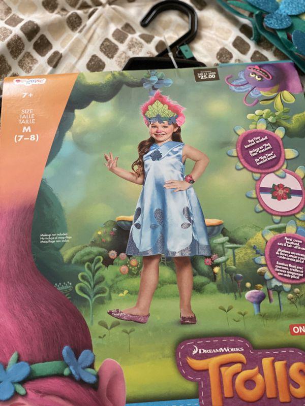 Girls Costume!! Disfraz para niñas de Trolls