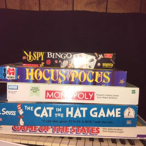 Various Board Games for Sale in Baltimore, OH