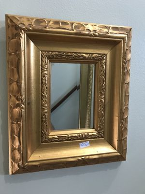 Petite gilded gold frame mirror for Sale in Chevy Chase, MD