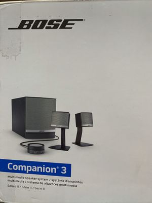 Bose Companion 3 Speakers for Sale in Orem, UT